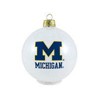 Michigan Wolverines Ornament - LED Color Changing Ball