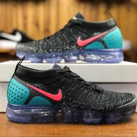 2018 Nike Air VaporMax Flyknit 2.0 Blue Pink 942843-003 Sport Running Shoes - Best Online Sale