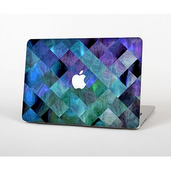 """The Multicolored Tile-Swirled Pattern Skin for the Apple MacBook Air 13"""""""