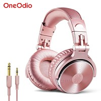 OneOdio Pro 10-G Studio Wired Super Bass 50mm Driver HIFI Headphones with Mic