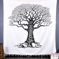 Tree of Life Blanket Wall Tapestry