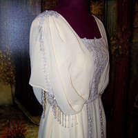 Victorian Edwardian Titanic Downton Abby Dress Gown