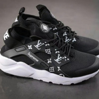 Nike Air Huarache Supreme Lv I am the stars that shine at night Fashion Women/Men Casual Running Sport Shoes