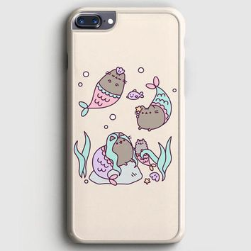 Pusheen The Cat Eat Every Thing iPhone 8 Plus Case | casescraft