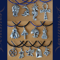 Custom Charm Necklace Free Shipping