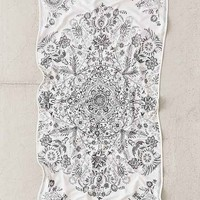 Louise Medallion Bath Towel
