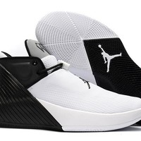 "Air Jordan Brand Russell Westbrook 1 Low ""Black&White"" Basketball Shoes"