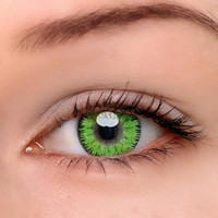 EyeDream® Eye Circle Lens Mystery Green Colored Contact Lenses