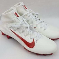 Nike Vapor Untouchable 2 TB Jewels Size 11 Football Cleats White Red 835831-160