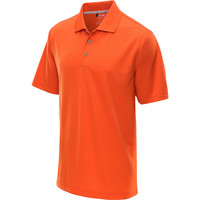 adidas Men's ClimaLite Solid Short-Sleeve Golf Polo