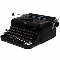Revitalized Royal Companion Typewriter Professionally Refurbished Portable & Two New Ribbons