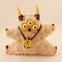 """Handmade Toy Psychedelic Little Lamb """"Maffin"""""""
