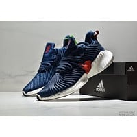 ADIDAS tide brand cushioning casual breathable men's wild sports shoes blue