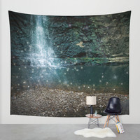 Just After Midnight Wall Tapestry by Jenndalyn