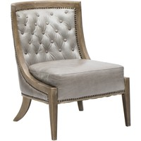 Monroe Leather Occasional Chair