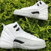 Air Jordan 12 GS Barons AJ12 Sneakers - Best Deal Online