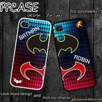 Batman and Robin Hero at the night Case For Iphone 45Samsung S234 by pfcase on Zibbet