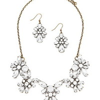 Faux Gem Jewelry Set