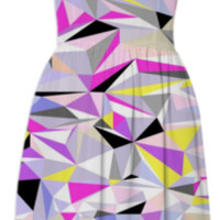 Grey+Pink+Yellow created by House of Jennifer | Print All Over Me