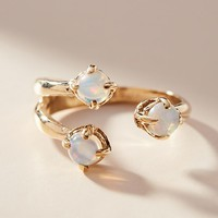 Triple Twisted Wrap Ring