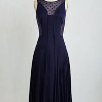 Long Sleeveless Fit & Flare Sway Beyond Sunset Dress by ModCloth