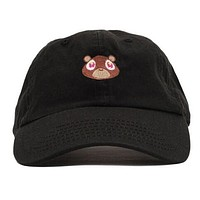 Kanye West The College Dropout Bear Black Dad Hat