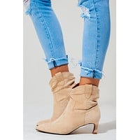 Soul Mate Booties: Nude