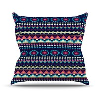 "Nika Martinez ""Aiyana"" Throw Pillow"