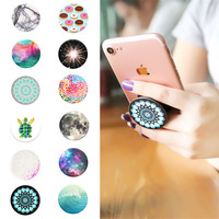 2017 POP Holder New Beautiful Finger Holder with Anti-fall Phone Holder Stand Handyhalter Phone For Iphone5 6 6s 7 XIAOMI