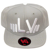 LV Rep Grey/White Snapback