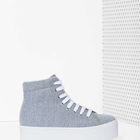 JC Play by Jeffrey Campbell Homg Platform Sneaker - Gray