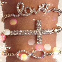 Lovely Gold Trio  from p.s. I Love You More Boutique