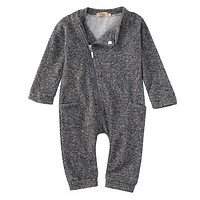 newborn baby boys girls clothing sets  Kids Baby Boy Girls Side zipper Romper Jumpsuit Clothes Outfits 0-2Y