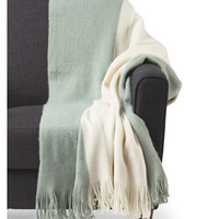 Nicole Miller Colorblocked Knit Throw