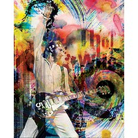 Pete Townshend Art - The Who
