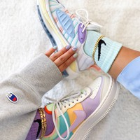 Nike Air Max 98 /  Air Force 1 Sneakers