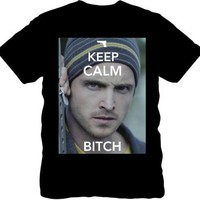 Breaking Bad - Keep Calm Bitch Jesse Pinkman - T-Shirt (XL)