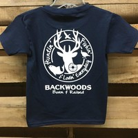 Backwoods Hunting & Fishing & Lovin Everyday Unisex Bright T Shirt