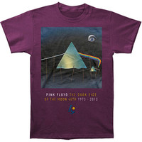 Pink Floyd Men's  Dali T-shirt Purple