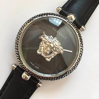 Versace Hot Vintage Fashion Quartz Classic Watch Round Ladies Women Men wristwatch On Sales Jovia