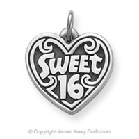 """Sweet 16"" Charm from James Avery"