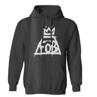 Fall Out Boy Logo Mens Hoodie and Womens Hoodie