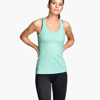 Sports Tank Top - from H&M