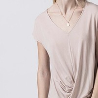 Hannah V Neck Twist Top