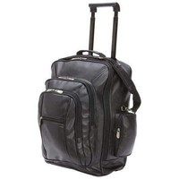 Faux Leather Trolley/Backpack