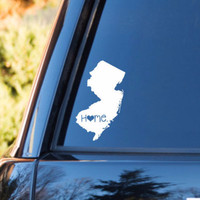New Jersey Home Decal | New Jersey Decal | Homestate Decals | Love Sticker | Love Decal  | Car Decal | Car Stickers | 070