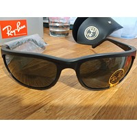 Ray Ban Predator 2 Matte Black Sunglasses