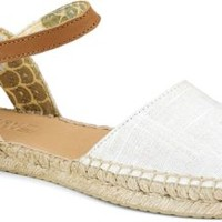 Sperry Top-Sider Hope Espadrille IvoryLinen, Size 6.5M  Women's Shoes
