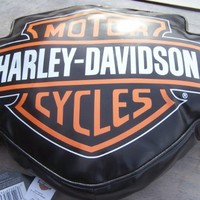 Harley Davidson Couch Pillow Geniune