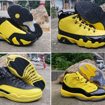 New Released Air Jordan 9 11 12 14 Retro Sneakers High Quality With Shoes Box